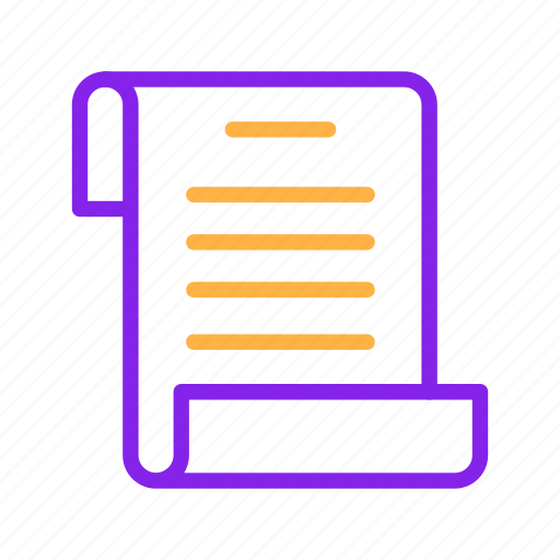 business, document, marketing, paper, report, sheet icon