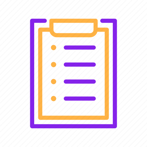 business, document, file, list, paper, report icon