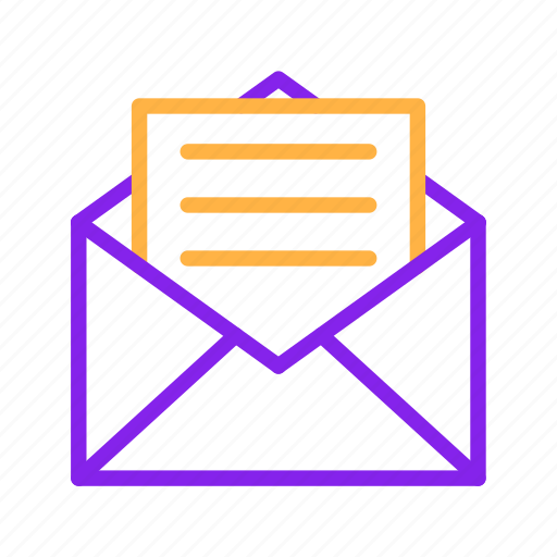 business, email, envelope, letter, mail, message, report icon