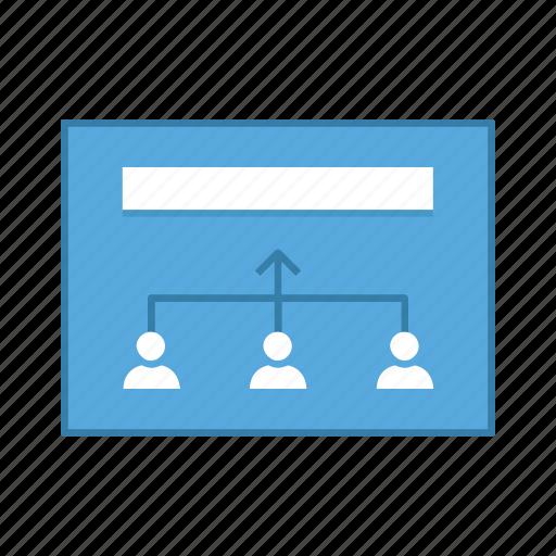 increase, layout, presentation, teamwork, template, ui, user interface icon