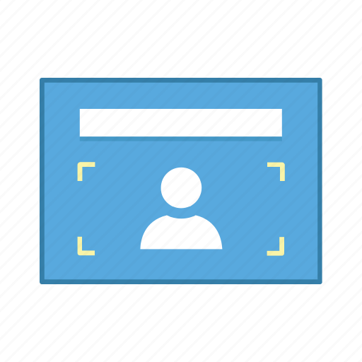 capture, layout, people, presentation, template, ui, user interface icon