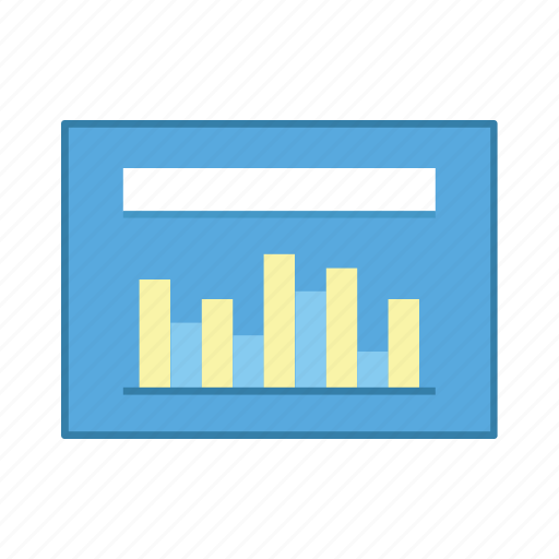 bar, layout, presentation, statistic, template, ui, user interface icon