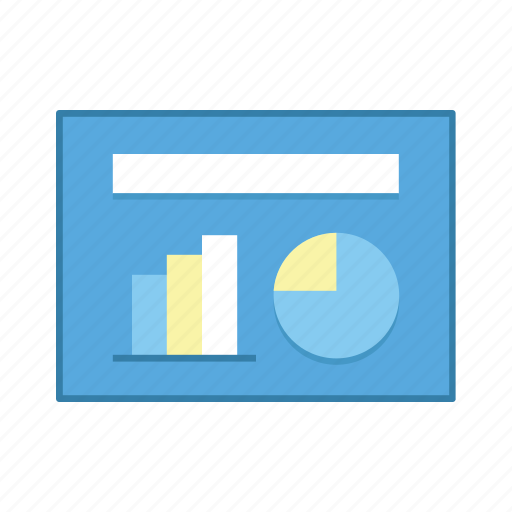 diagram, layout, presentation, statistic, template, ui, user interface icon