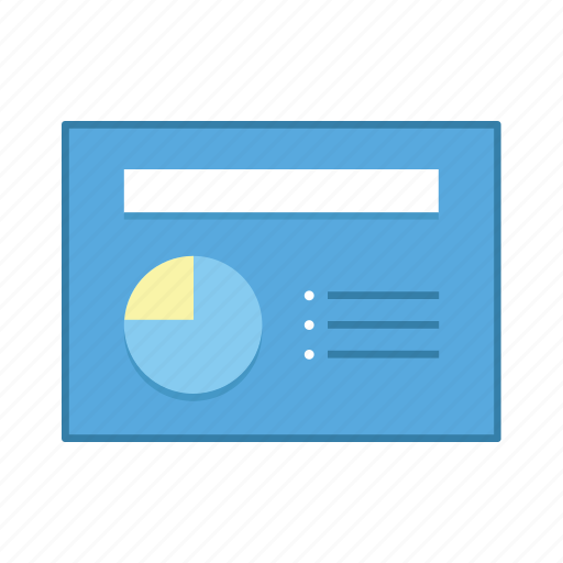 diagram, layout, list, presentation, template, ui, user interface icon