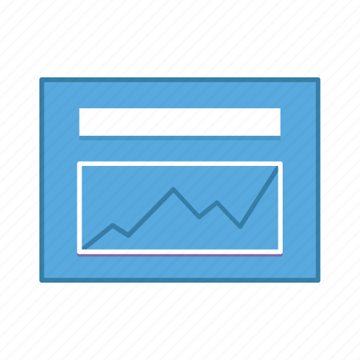 layout, marketing, presentation, statistic, template, ui, user interface icon