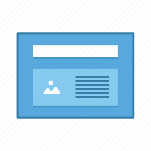 image, layout, presentation, template, text, ui, user interface icon
