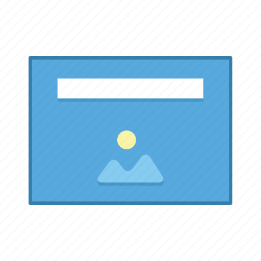 image, layout, presentation, preview, template, ui, user interface icon