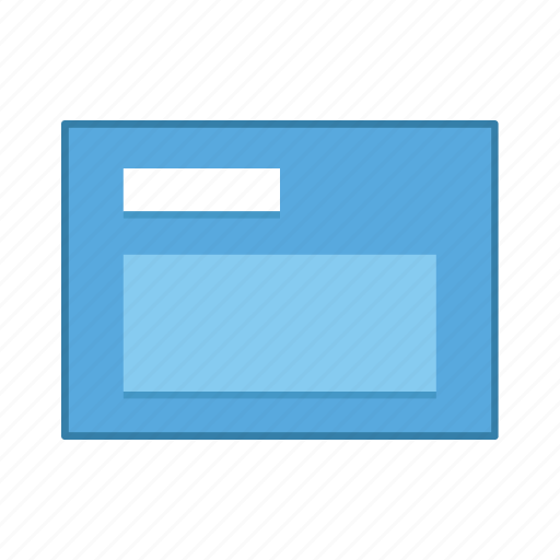 default, layout, presentation, template, ui, user interface icon
