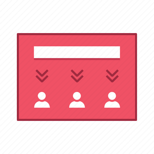 decrease, layout, people, presentation, template, ui, user interface icon