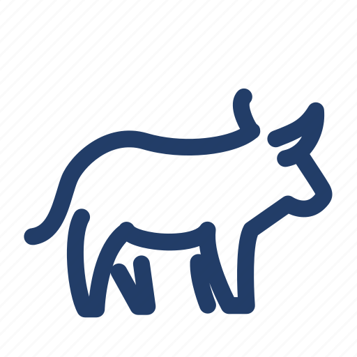 beef, cattle, cow, meat, 牛, 牛肉 icon