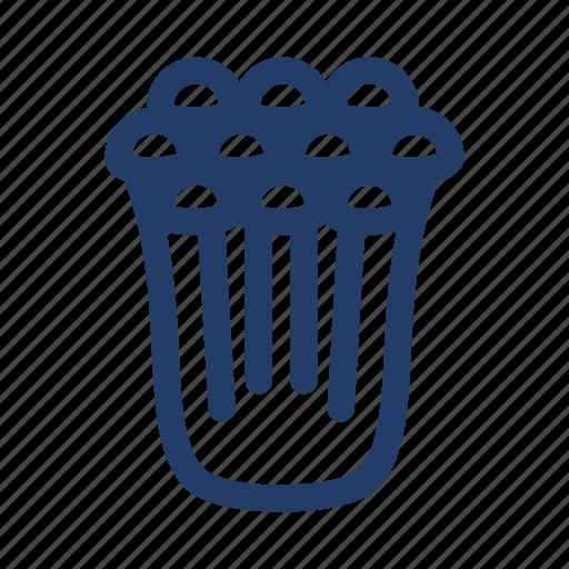 enokitake, hot pot, mushroom icon