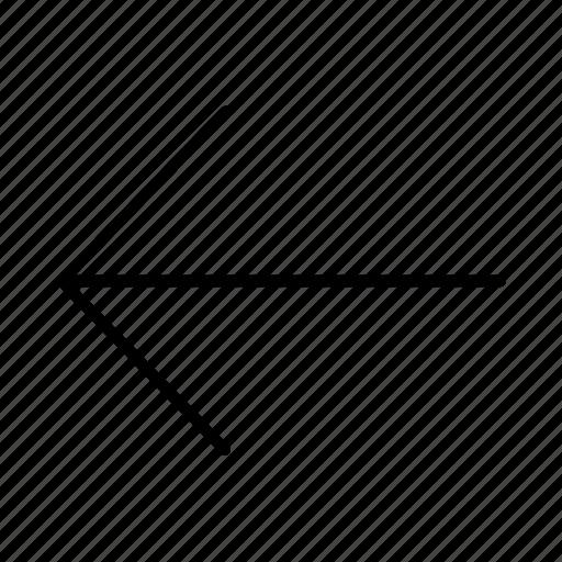 aim, arrow, arrows, back, direction, left, purpose icon