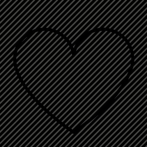 favorite, like, love icon
