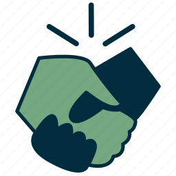 agreement, cooperation, government, handshake, oath, trust, unity icon