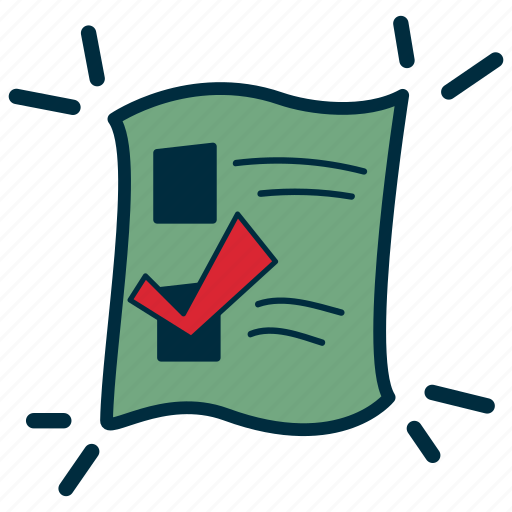ballot, elections, free, government, vote, voting icon