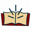book, government, knowledge, literature, read, wisdom icon