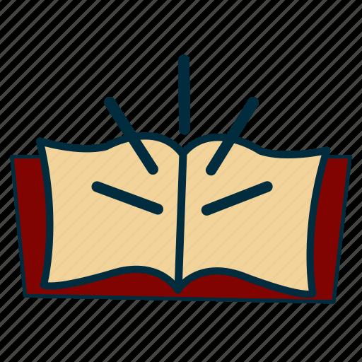 book, government, knowledge, literature, read, wisdom icon