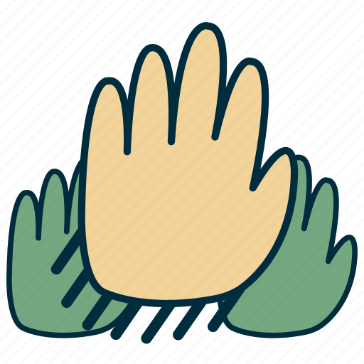 agreement, government, hands, people, power, vote icon