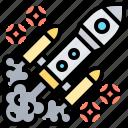 launch, rocket, shuttle, spacecraft, technology