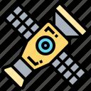 broadcasting, communication, radio, satellite, technology icon