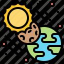 astronomical, eclipse, orbit, phenomenon, planet icon