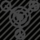 circles, astronomy, crop