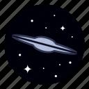 astronomy, galaxy, nebula, space, star icon