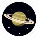 planet, saturn, star, universe