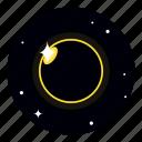 astronomy, eclipse, solar, stellar, sun icon