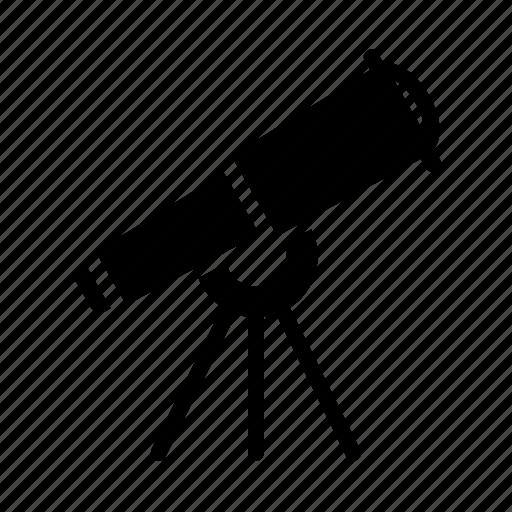 astronomy, lens, space, telescope icon