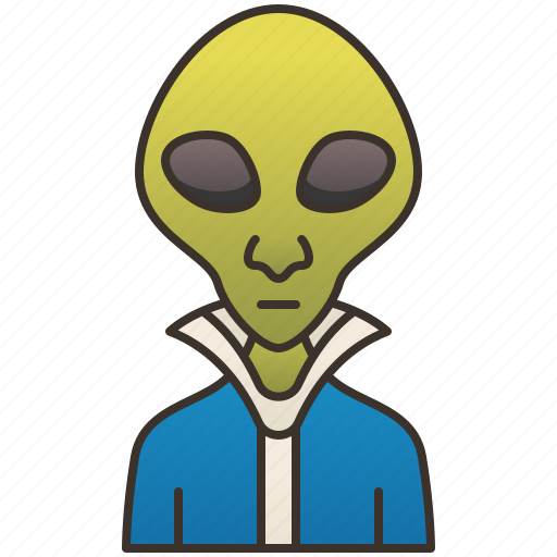 Alien, extraterrestrial, invader, martian, universe icon - Download on Iconfinder