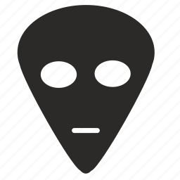 face, head, human, man, ufo icon