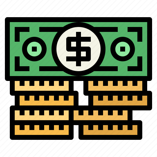 Cash, currency, money, stack icon - Download on Iconfinder