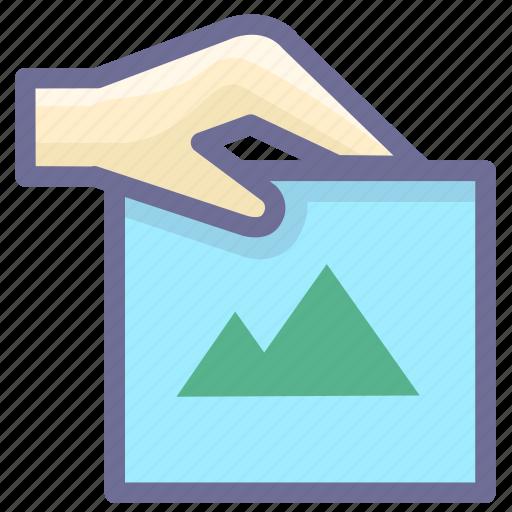 attachment, picture, picture attachment icon