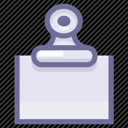 document, memory, notice icon
