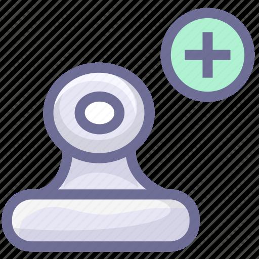 add attachment, attachment, binder, document icon