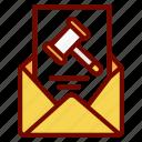 auction, envelope, event, invitation, inviting, letter