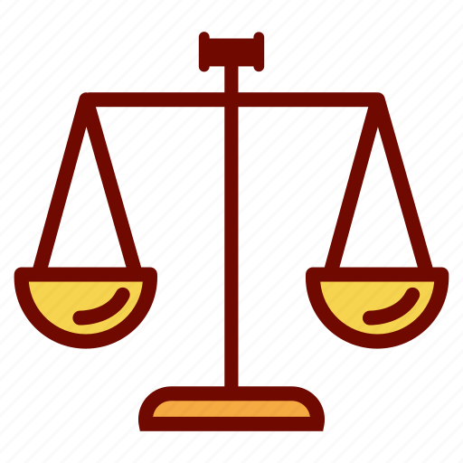 fair, hammer, justice, law icon