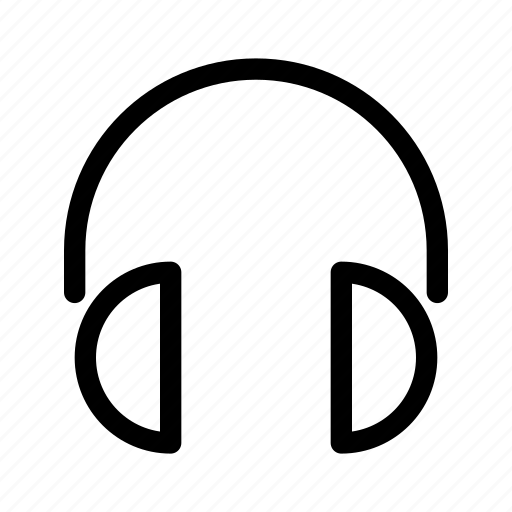 Audio, headphones, headset, multimedia, music, sound icon - Download on Iconfinder