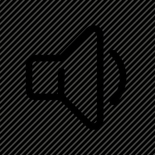Audio, music, quiet, sound, speaker, volume icon - Download on Iconfinder