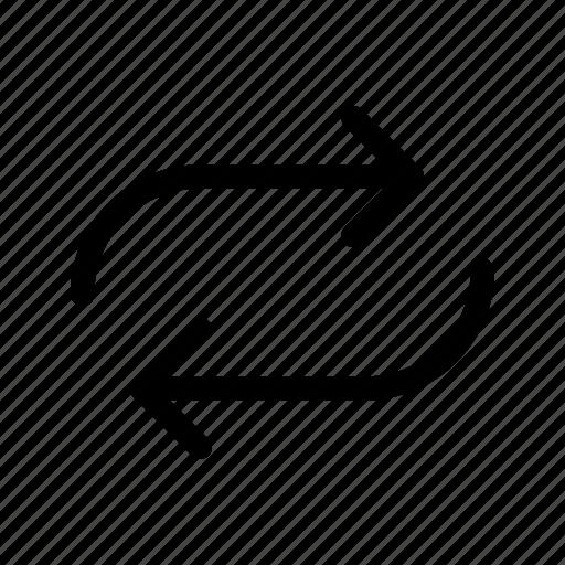 Arrow, arrows, loop, refresh, reload, repeat icon - Download on Iconfinder