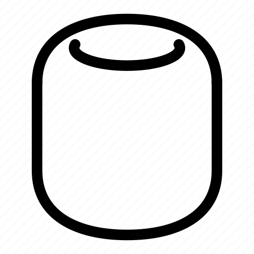 apple, homepod, music, siri, smart, speaker icon