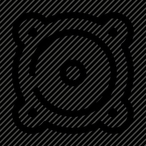Audio, multimedia, music, noise, sound, speaker, volume icon - Download on Iconfinder