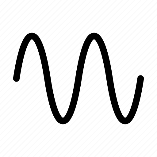 beat, line, multimedia, music, sound, wave icon