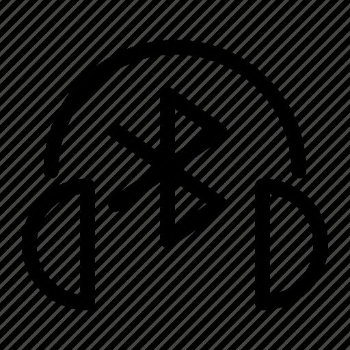 Audio, bluetooth, headphones, multimedia, music, sound, wireless icon - Download on Iconfinder