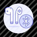 airpod, headsets, ear, audio, in, bluetooth, headphones