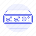 1, amp, audio, dac, headsets, interface icon