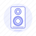 1, 3, audio, channel, computer, desktop, mono, pc, speakers icon