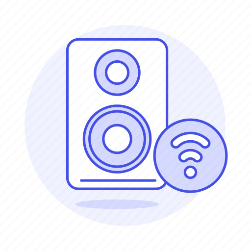 audio, channel, connection, desktop, mono, pc, speakers, wifi icon