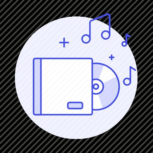 album, audio, box, cd, compact, disc, music, players icon